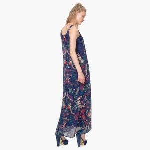 Vestido comprido com alças, estampado DESIGUAL