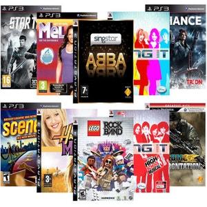 Pack 10 jeux musicaux - PS3 NONAME