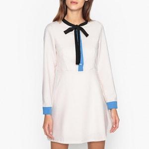 Long-Sleeved Short Dress SISTER JANE