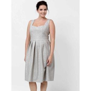 Sleeveless Printed Dress LOVEDROBE