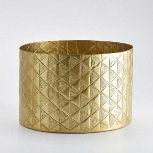 Vase cache-pot, métal embossé, Erledur La Redoute Interieurs