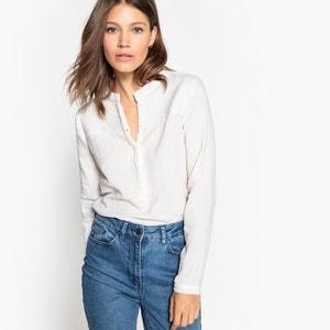 Cazadora de algodón, cuello estilo quilt La Redoute Collections