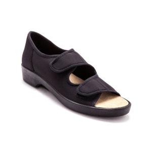 Sandales extra larges en maille extensible PEDICONFORT