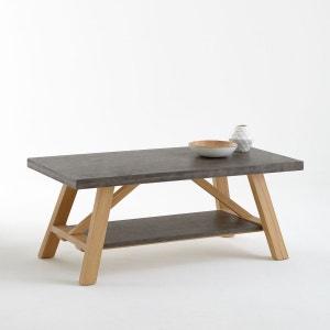 Table basse, plateaux effet béton, Concrite La Redoute Interieurs