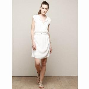 Sleeveless Dress with Elasticated Waist CHARLISE