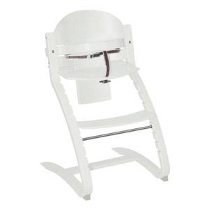 Chaise haute Move Up Roba en bois blanc ROBA