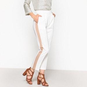 Pantalon droit bande côté MAISON SCOTCH