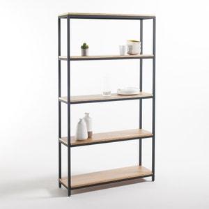 Grande étagère 5 tablettes métal et bois, Talist La Redoute Interieurs