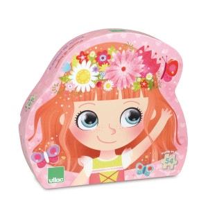 Puzzle 54 pièces en bois : Princesse des fleurs VILAC
