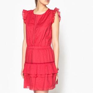 Ruffled Cotton Summer Dress MAISON SCOTCH