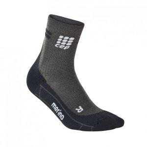 Chaussettes de course Dynamic+ Merino Short Socks WP4B CEP