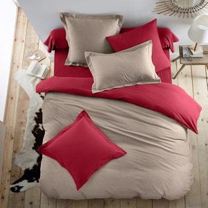 Two-Tone Cotton Flannel Duvet Cover SCENARIO