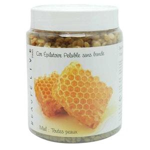 Cire épilation visage et corps pelable, parfum miel, Beautélive BEAUTELIVE