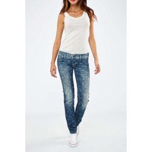 Jeans Silver Artistic Freesoul Bleu Fonce Delave FREE SOUL