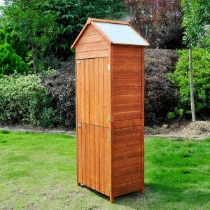 Armoire de jardin en bois HOMCOM
