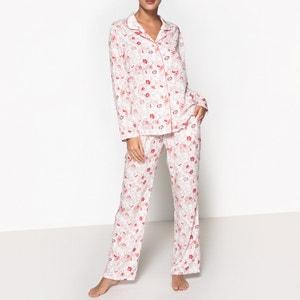 Pyjama mit Hemd-Oberteil La Redoute Collections
