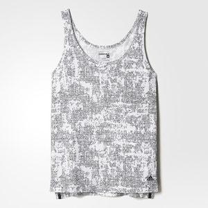 Camiseta sin mangas estampada ADIDAS