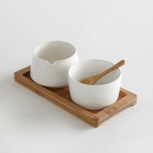Melkkan en suikerpot in keramiek La Redoute Interieurs