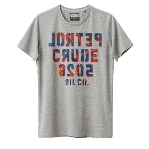 Camiseta con motivo estampado delante PETROL INDUSTRIES