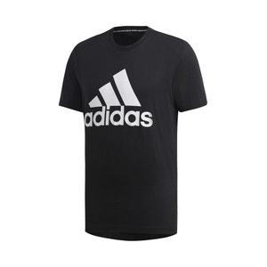 T-shirt met ronde hals en logo