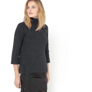 High Neck Sweater SOFT GREY