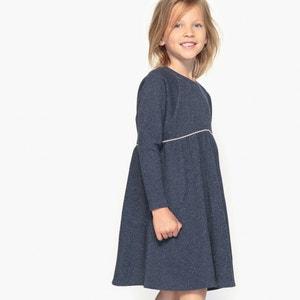 Платье из мольтона с блестящим эффектом, 3-12 лет La Redoute Collections