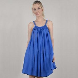 Kurzes Kleid, schmale Träger, ausgestellt, unifarben MOLLY BRACKEN