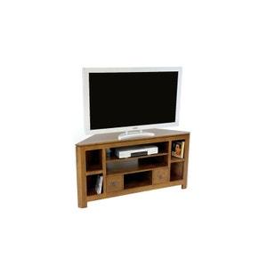 meuble tv dangle hva 127cm helena pier import - Meuble Tv D Angle Noir