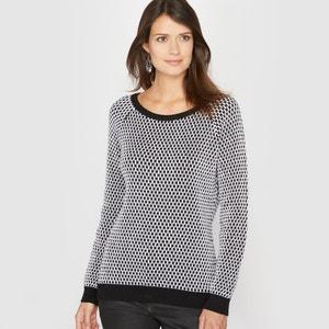 50% Cotton Textured Knit Jumper/Sweater ANNE WEYBURN