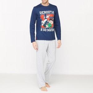 Bedrukte pyjama met lange mouwen GASTON LAGAFFE