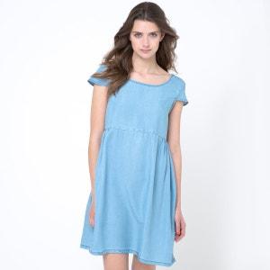 Платье из денима La Redoute Collections
