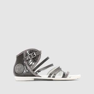 Sandalen in gelakt leer, met bandjes PATAUGAS CHARLIE PATAUGAS