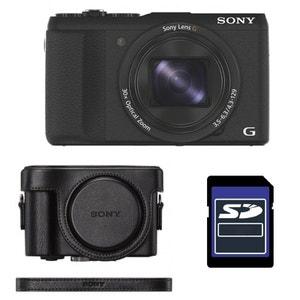 Compact DSC-HX60V avec GPS + ETUI + SD 4 Go SONY