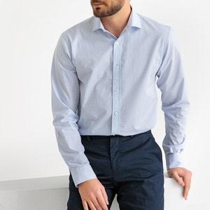 Recht Hemd vichy, lange mouwen