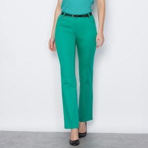 Stretch Cotton Trousers ANNE WEYBURN
