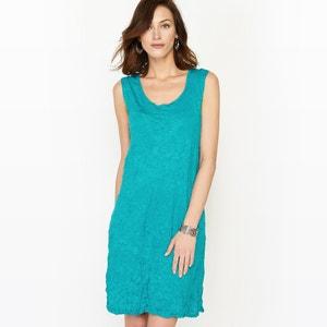 Unifarbenes Kleid, Knitter-Optik ANNE WEYBURN