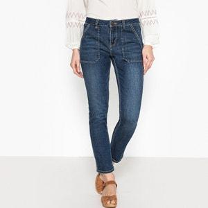 Jeans straight con maxi tasche JANE REG LABDIP