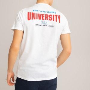 Camiseta de algodón orgánico 10-18 años