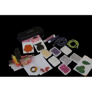 Pochette création bijoux, 1400 colliers, pierres semi précieuses, perles nacrées et pendentifs - Perles Box PERLES BOX