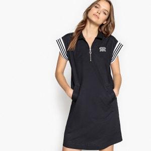 Robe sportswear col polo, zippée devant La Redoute Collections