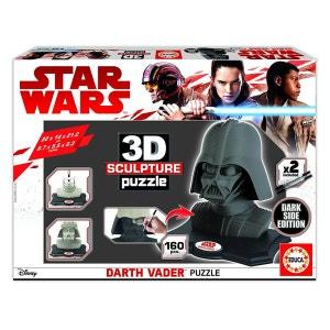 Puzzle 160 pièces : Sculpture 3D Star Wars : Dark Vador (Dark Side Edition) EDUCA