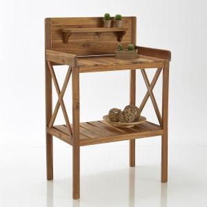 Table de jardinage en acacia huilé La Redoute Interieurs