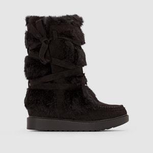 Hoge boots met sierbont BRAID COOLWAY