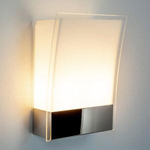 Applique Malthe moderne en verre et en métal LAMPENWELT