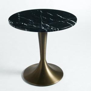 Superficie de mesa estilo restaurante de mármol Ø75 cm, Aradan AM.PM.