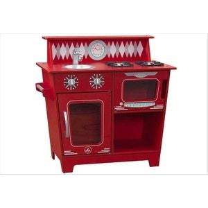 Petite cuisine rouge en bois KidKraft KIDKRAFT