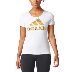 T-shirt bawełniany z okrągłym dekoltem ADIDAS