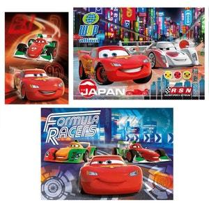 Puzzle 3 x 48 pièces : Cars 2 CLEMENTONI