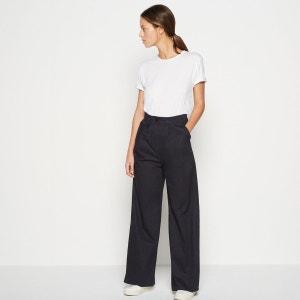 Pantalon taille haute MONOPRIX