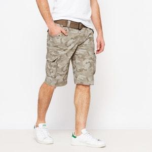 Camouflage Print Bermuda Shorts SCHOTT
